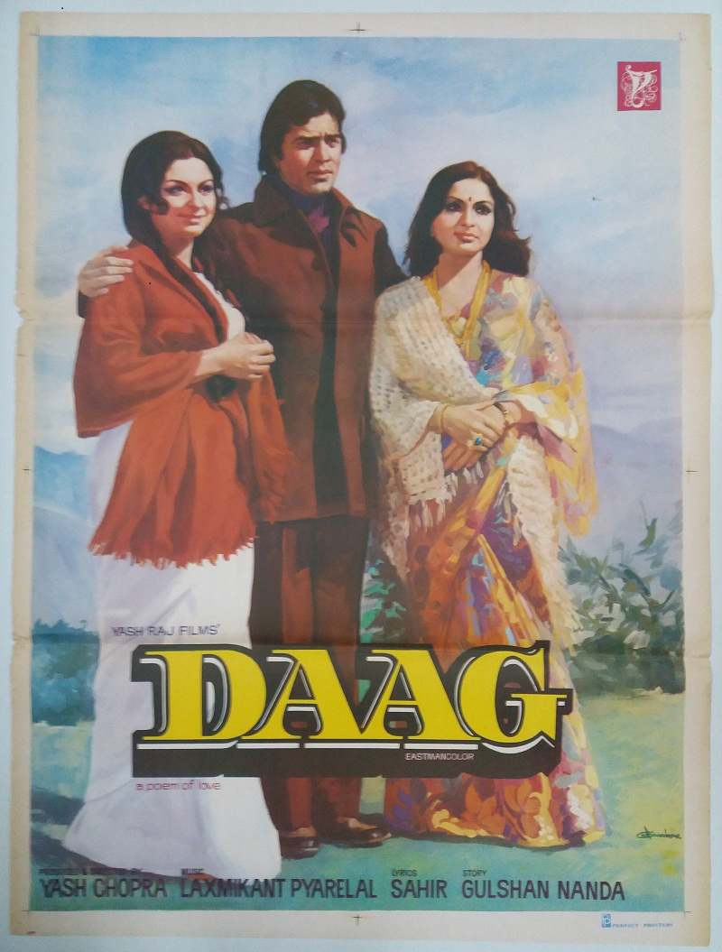 DAAG | Bollywood Cinema Poster!
